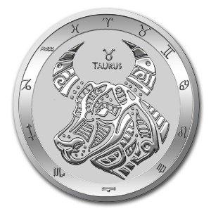 2021 Tokelau 1 oz Silver $5 Zodiac Series - Gem BU - Design Your Choice