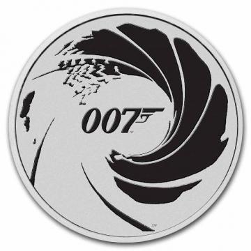 2022 1 oz James Bond 007 Silver Coin - BU