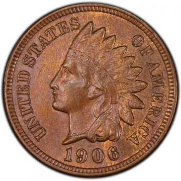 Indian Head Cent Coin - BU (Brown)1898-1909 Indian Head Cent Coin - BU (Brown)