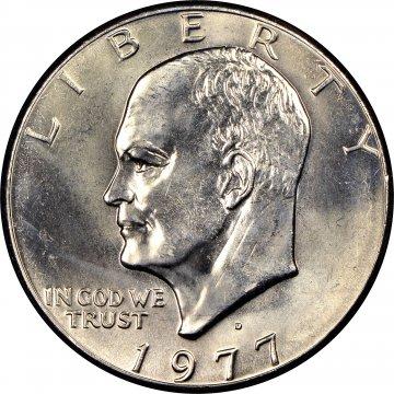 1977 Eisenhower Dollar Coin - Choose Mint Mark - BU