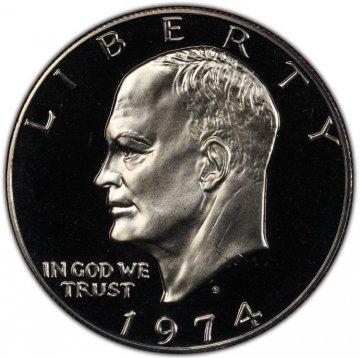 1974-S Eisenhower Dollar Coin - Proof