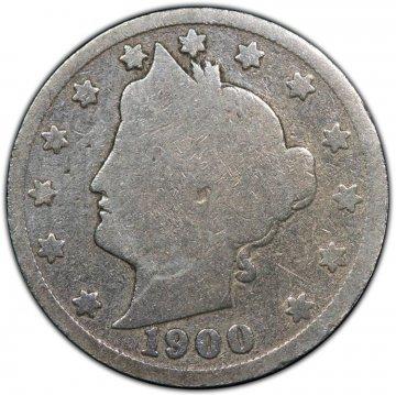Liberty Head V Nickel 40-Coin Rolls - Low Grade/Cull - Mixed Dates