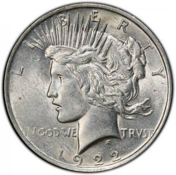 Peace Silver Dollar Coins - Random Date - AU/BU