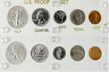 1941 U.S. Proof Set (New Capital Plastic Holder)