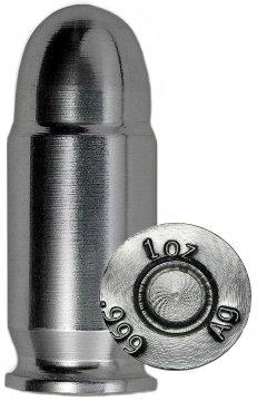 1 oz Silver Bullet - .45 Caliber ACP Design