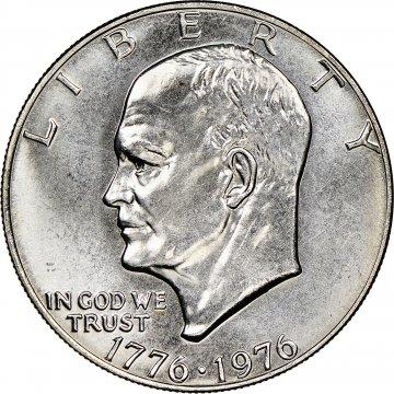 1776-1976 Eisenhower Dollar Coin - Choose Mint Mark - BU