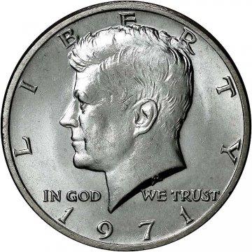 1971 Kennedy Half Dollar Coin - Choice BU
