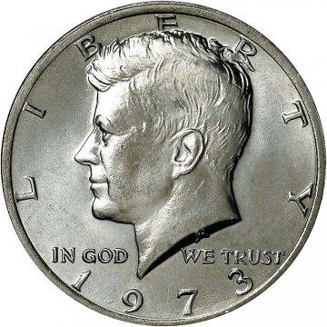 1973 Kennedy Half Dollar Coin - Choice BU