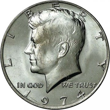 1974 Kennedy Half Dollar Coin - Choice BU