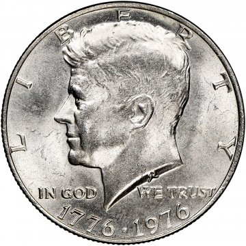 1776-1976 Kennedy Half Dollar Coin - Choice BU