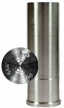 5 oz Silver Bullet - 12 Gauge Shotgun Shell Design