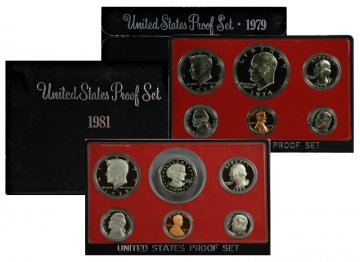 All 11 1973-1982 U.S. Proof Coin Sets - Includes 1976 3pc 40% Silver Set