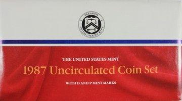 1987 U.S. Mint Coin Set