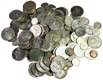 $50.00 Face Value U.S. 90% Silver Coins - Includes Half Dollars!