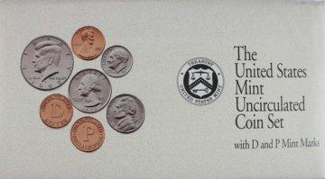 1992 U.S. Mint Coin Set