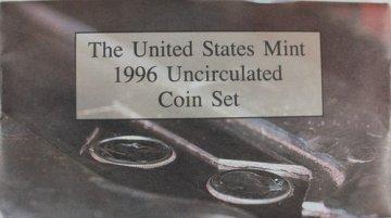 1996 U.S. Mint Coin Set - Includes 1996-W Dime!