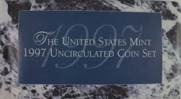 1997 U.S. Mint Coin Set