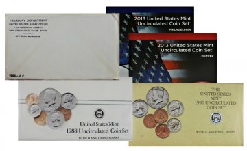 Collection of 1964-2019 U.S. Mint Coin Sets - 55 in All!