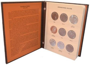 1971-1978 32-Coin Complete Set of Ike Dollars - BU - w/ Proofs
