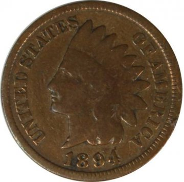 1894/1894 Indian Head Cent Coin - FS-301 - Good or Better Details