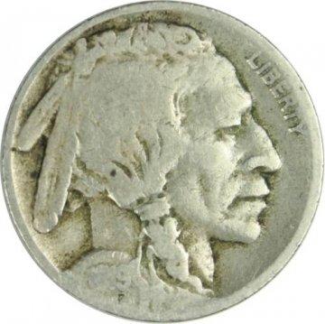 1919-D Buffalo Nickel Coin - Very Good