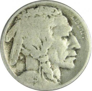 1925-D Buffalo Nickel Coin - Very Good