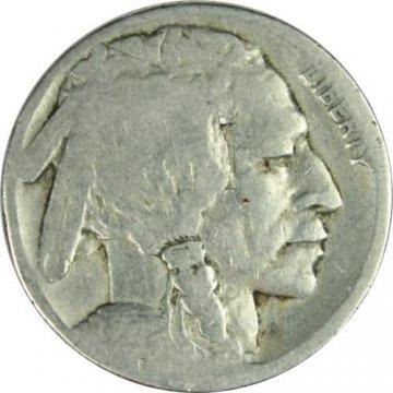1921-S Buffalo Nickel Coin - Good