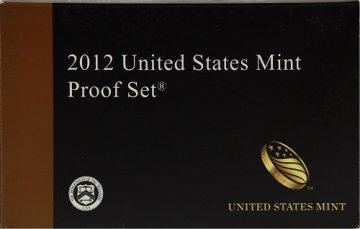 2012 U.S. Proof Coin Set
