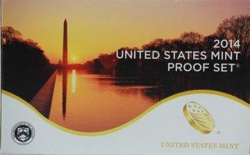 2014 U.S. Proof Coin Set