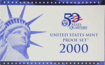 2000 U.S. Proof Coin Set