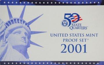 2001 U.S. Proof Coin Set