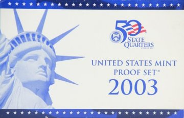 2003 U.S. Proof Coin Set