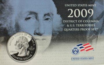 2009 District of Columbia & U.S. Territories Quarter Proof Coin Set
