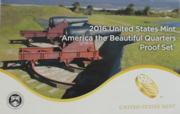 2016 America the Beautiful Quarters Proof Coin Set - Wholesale Price!