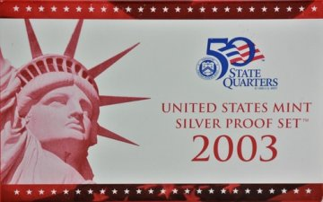2003 U.S. Silver Proof Coin Set