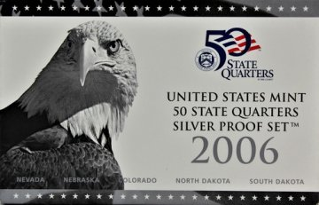 2006 U.S. State Quarter Silver Proof Coin Set