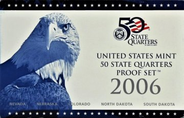 2006 U.S. State Quarter Proof Coin Set - Wholesale Price!