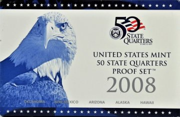 2008 U.S. State Quarter Proof Coin Set - Wholesale Price!