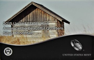 2015 America the Beautiful Silver Quarters Proof Coin Set