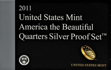 2011 America the Beautiful Silver Quarters Proof Coin Set