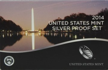 2014 U.S. Silver Proof Coin Set