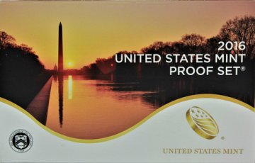 2016 U.S. Proof Coin Set
