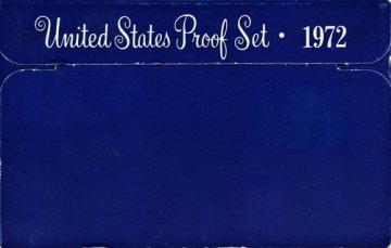 1972 U.S. Proof Coin Set