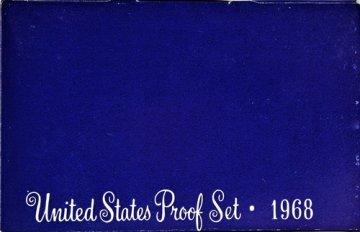 1968 U.S. Proof Coin Set