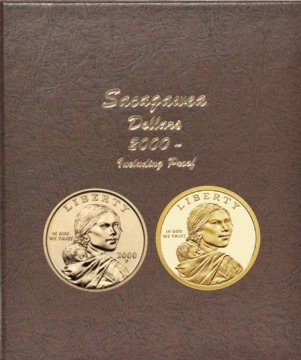 2000-2017 54-Coin Set of Sacagawea/Native American Dollars - with Proofs