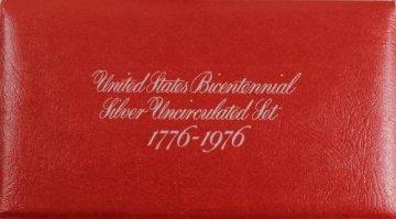 1976-S U.S. Bicentennial 3-Piece Silver Mint Coin Set