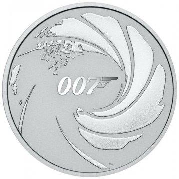 2020 1 oz James Bond Silver Coin - BU