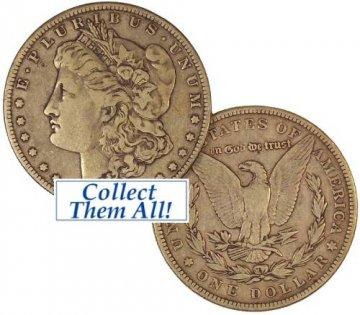 1900-S Morgan Silver Dollar Coin - Borderline Uncirculated
