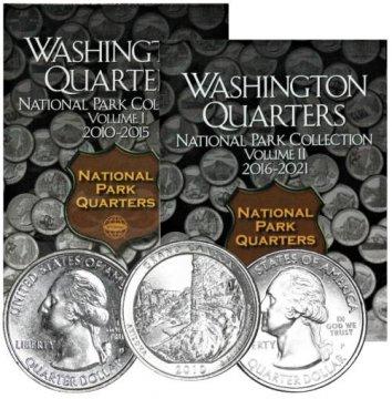2010-2018 90-Coin U.S. National Parks Quarter Set - BU