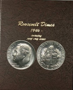 1965-2018 184-Coin Set of Roosevelt Dimes - BU -w/ Proofs
